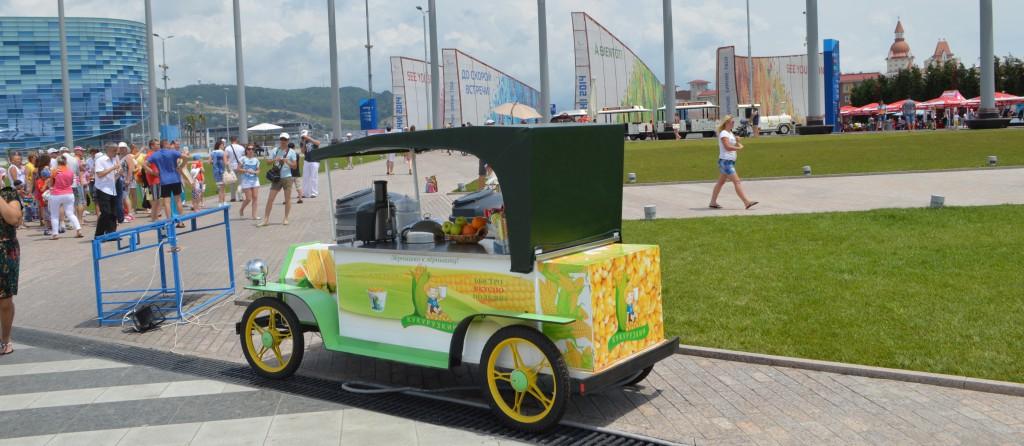 оборудование для кукурузы олимпийский парк